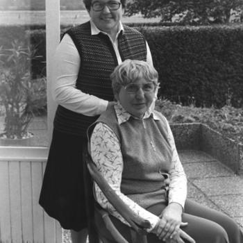 Inge Menze und Ilse Kaisen 1981