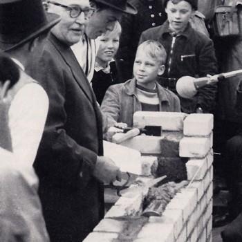 """Grundsteinlegung """"Neue Vahr"""" 1957"""