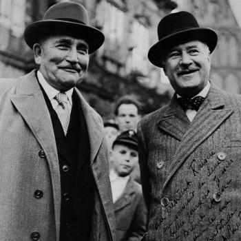 Mit Andre Francois-Poncet 1950