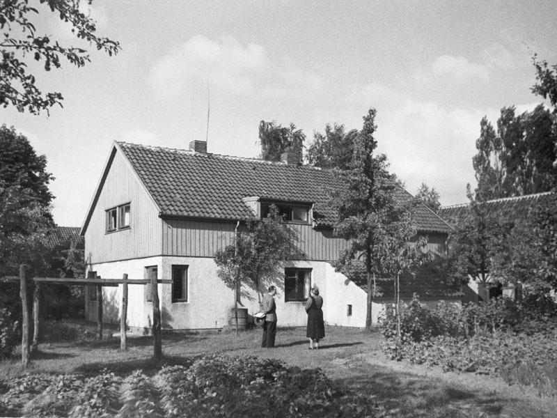 Siedlungshaus Rethfeldsfleet um 1955